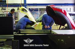 BMWミニ専用故障診断機を導入済み。専門店として日々勉強中です。