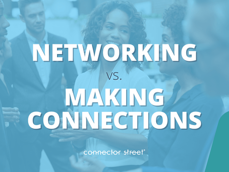 Networking Coach Dishes on the Paradox of Networking vs Making Connections