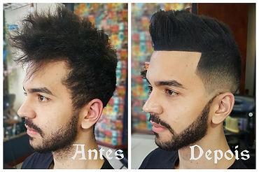 Barbearia Casa do Barbeiro - Transformação