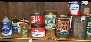 Oil Cans and Memorabilia