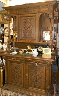 Antique Oak Sideboard China