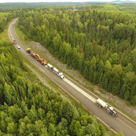 Expanded Asphalt Highway 527