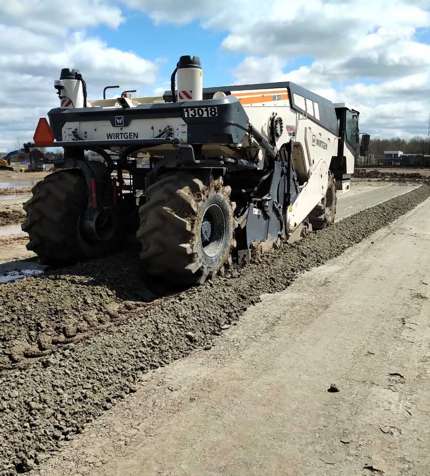 Soil Cement Stablization