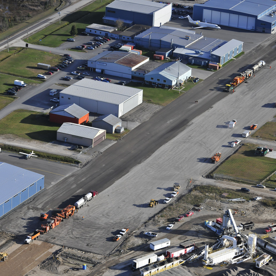 Asphalt Recycling Airport