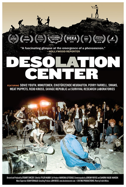 "Desolation Center Theatrical Poster (27""x40""Glossy)"