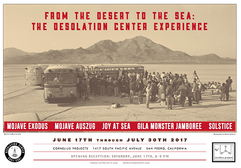 Desolation Center Art Show Poster (LIMITED EDITION)