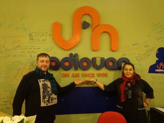 Мариам и Армен Мерабовы в гостях у  «RADIOVAN» Армения