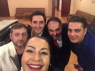 Мариам и Армен Мерабовы выступили в качестве почетных гостей с Государственным джазовым оркестром А