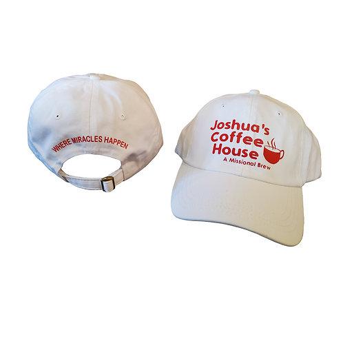 White & Red Hat