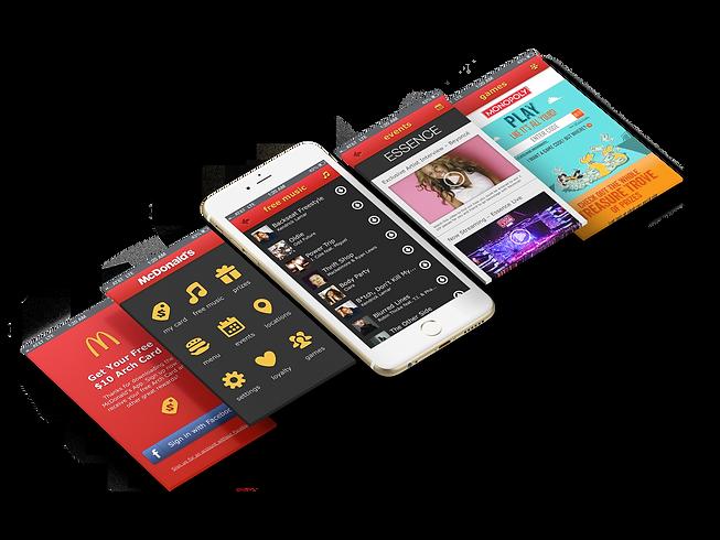 Desing: McDonald's Beta-App