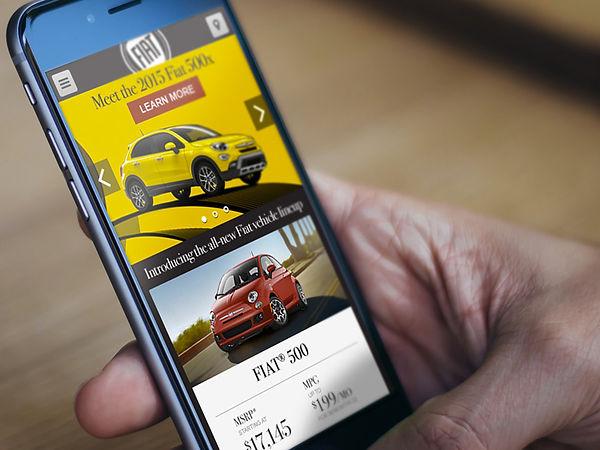 Fiat mobile UI