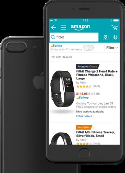 Deign: Amazon mobile app