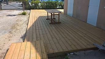 terrasse pin verdon sur mer