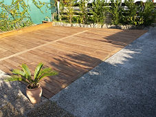 terrasse en pin qualité soulac sur mer