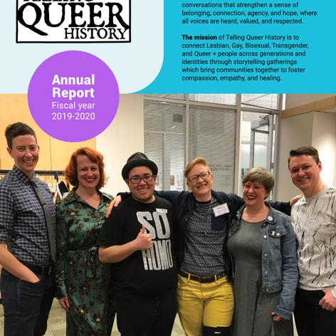 Editor/Content Writer Annual Report