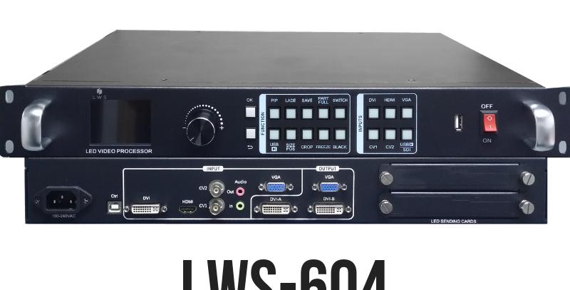 LWS-604 - LED Wall Video Processor DVI HDMI VGA AV
