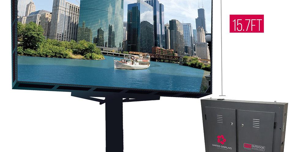 NovaStar P10 mm 31.5' x 15.7'  Outdoor Turn-key LED System (50 panels 960x960)