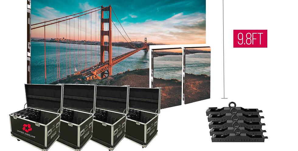 NovaStar P3.91mm 16.4'x9.8' Indoor Turn-key LED System (30 panels 500x1000)