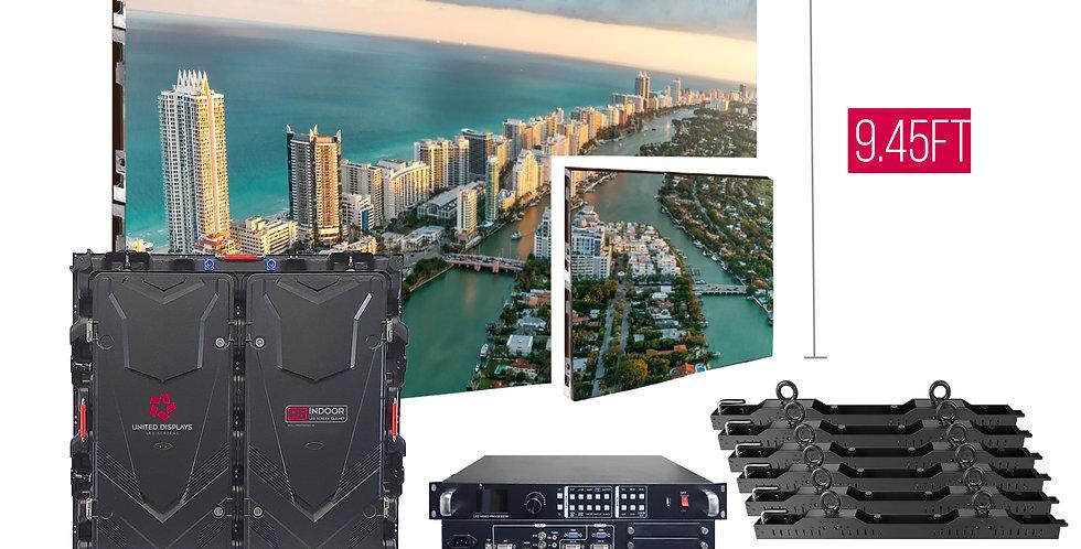 NovaStar P5mm 25.2'x9.45' Indoor Turn-key LED System (24 panels 960x960)