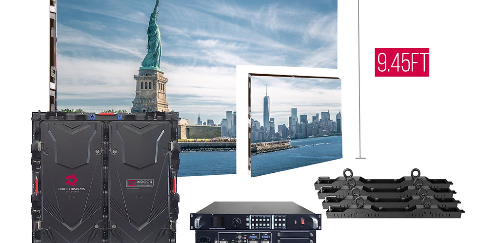 NovaStar P5mm 15.7'x9.45' Indoor Turn-key LED System (15 panels 960x960)