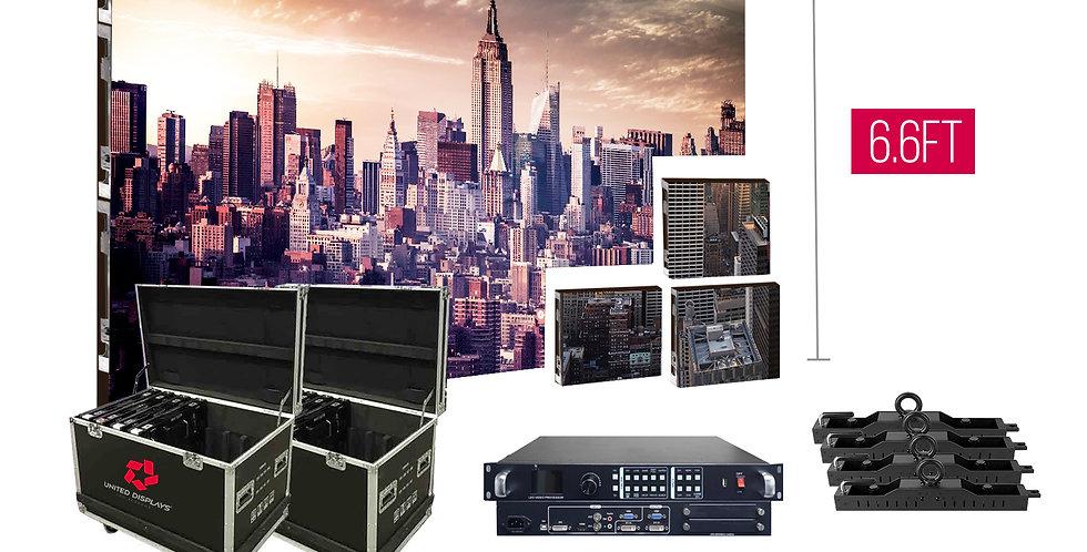 NovaStar P2.97mm 9.8'x6.6' Indoor Turn-key LED System (24 panels 500x500mm)