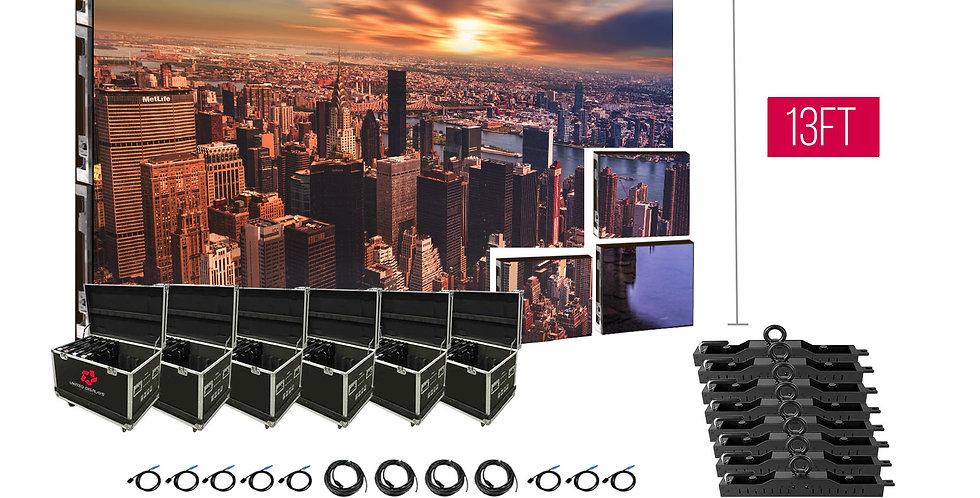 NovaStar P2.97mm 19.7'x13' Indoor Turn-key LED System (96 panels 500x500mm)