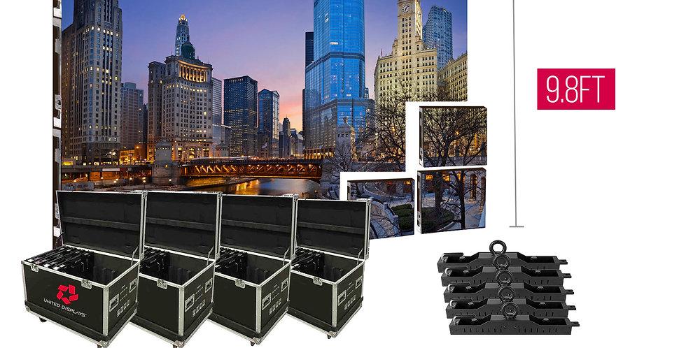 NovaStar P3.91mm 16.4'x9.8' Indoor Turn-key LED System (60 panels 500x500)