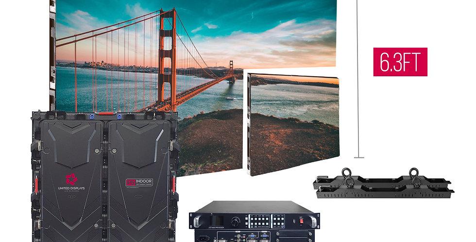 NovaStar P5mm 9.45'x6.3' Indoor Turn-key LED System (6 panels 960x960)