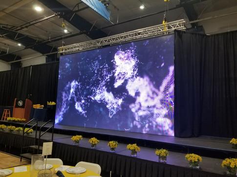 LED Screen 20'x10' in Church