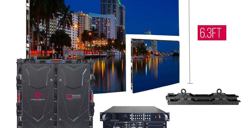 NovaStar P5mm 12.6'x6.3' Indoor Turn-key LED System (8 panels 960x960)