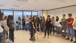 Formación a alumnos de Mondragón Unibertsitatea sobre productos sanitarios