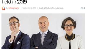 Los robots médicos son el futuro: 10 nuevas empresas europeas que sobresalen en este campo en 2019