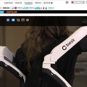 Exoeskeletoak: laneko uniforme berriak Cyber Human Systems euskal enpresarekin