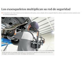 Los exoesqueletos multiplican su red de seguridad