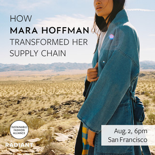 How Mara Hoffman Transformed her Supply Chain