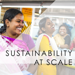 Sustainability at Scale