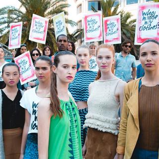 Fashion Revolution Flash Mob