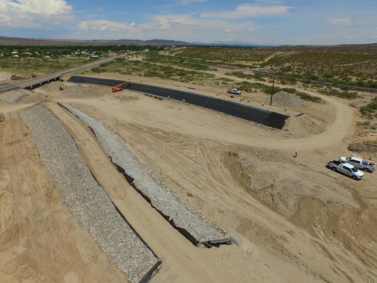 NMDOT project near Hatch, NM