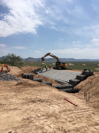 Erosion Control Project at Kirtland AFB