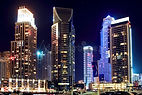 illuminated-modern-corporate-buildings-s