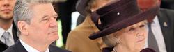 BP Gauck und Königin Beatrix