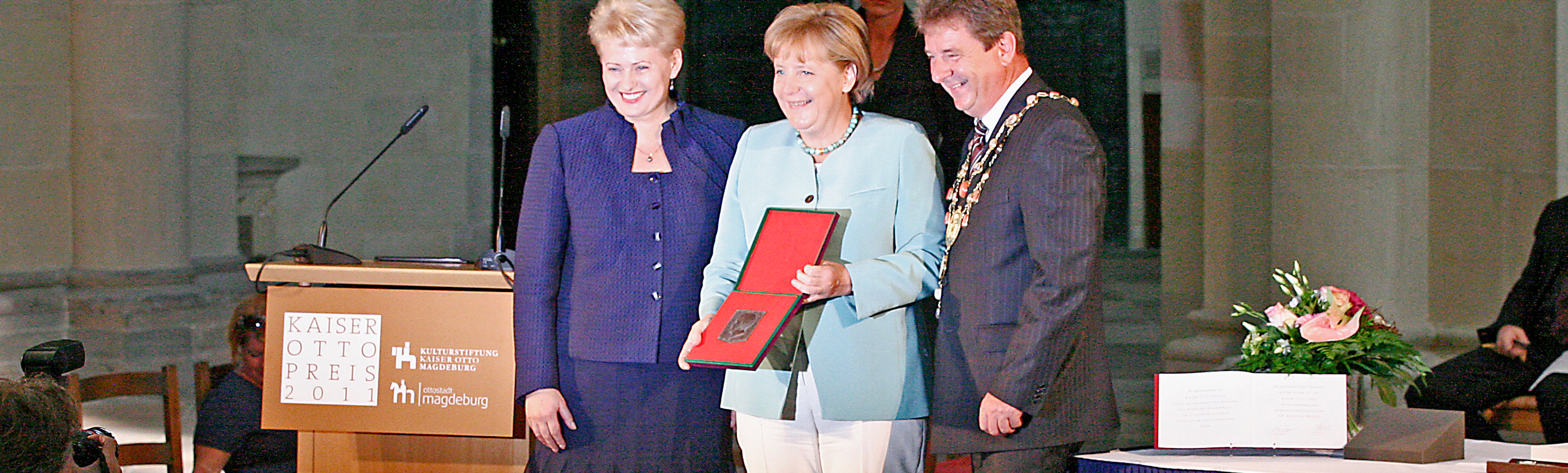 Kaiser Otto Preis - Bundeskanzlerin