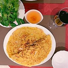 Banh Cuon (Crêpe Vietnamienne à la vapeur)