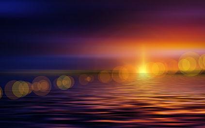Ausbildung Energetisches Heilen - Sonnenuntergang