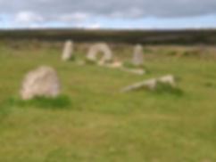 Men an Tol in Cornwall, Penzance