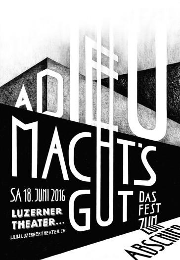 Luzerner Theater 2016 – Entwurf