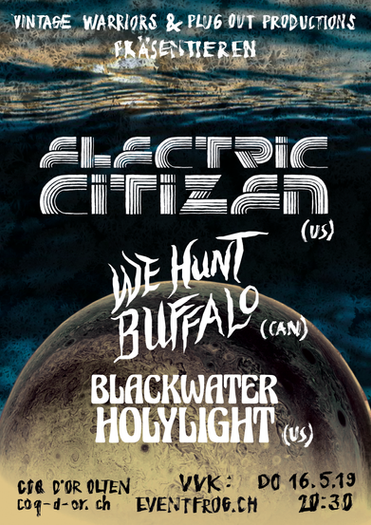Electric Citizen at Coq d'Or