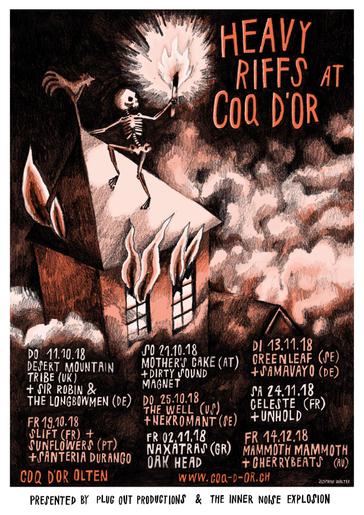 Heavy Riffs at Coq d'Or 2018