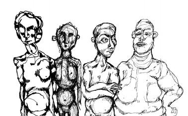Vier Menschen