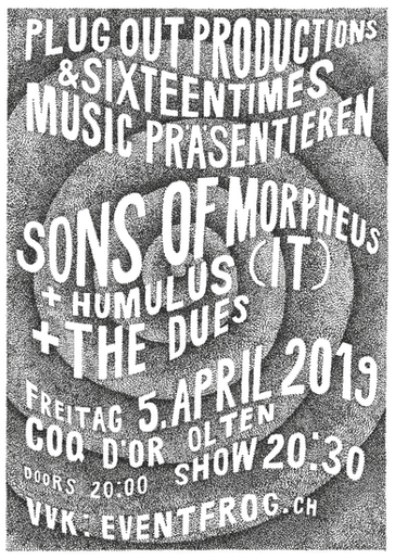 Sons of Morpheus at Coq d'Or